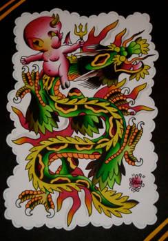 hot stuff dragon