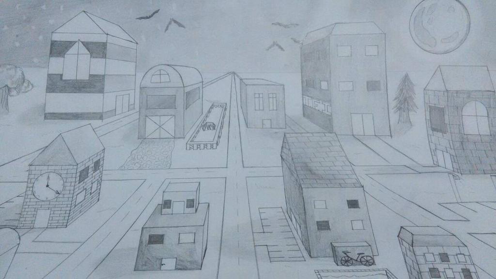 New City by thedaringdash