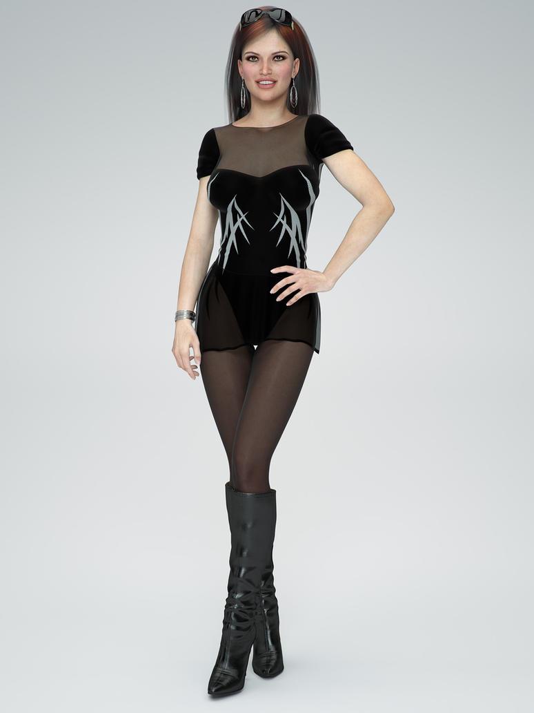 Sexy Model by Qoolman