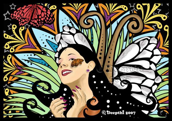 .::Butterfly Kiss::. by mickeykumar