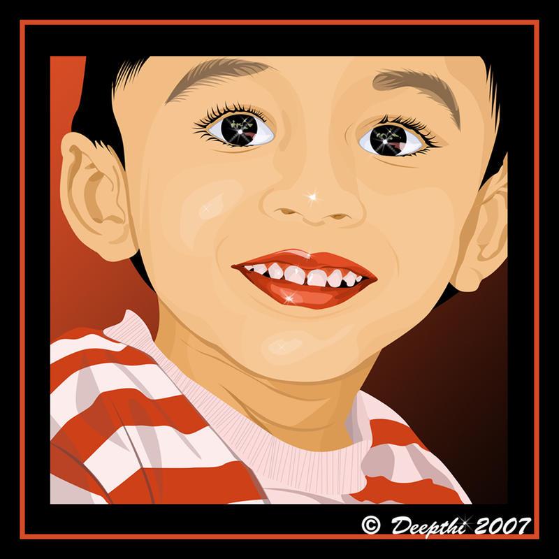 Innocent Smile by mickeykumar