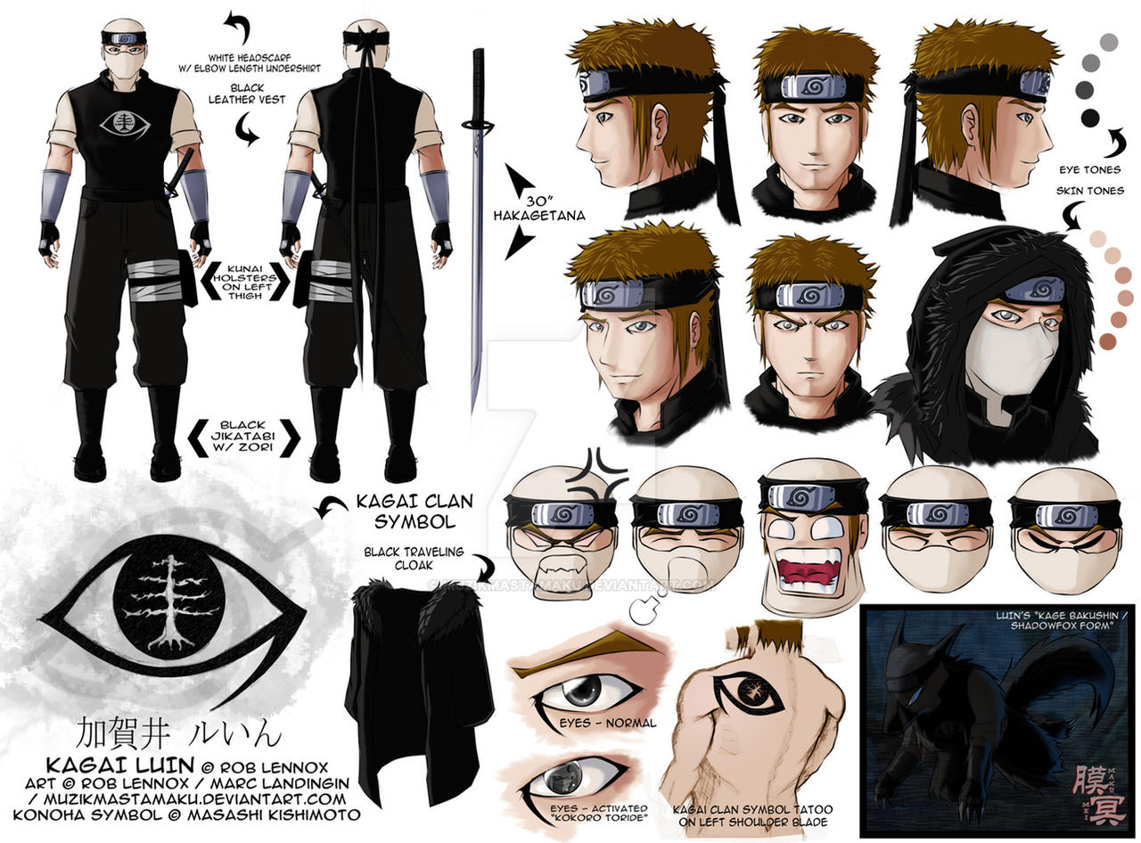 Naruto OC: Kagai Luin by muzikmastamaku