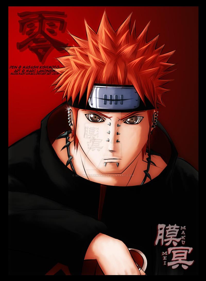 Naruto: Pein by muzikmastamaku