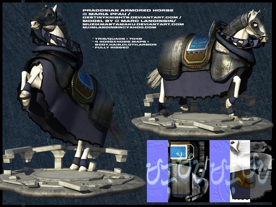Pradonian Horse:DestinyKnights by muzikmastamaku