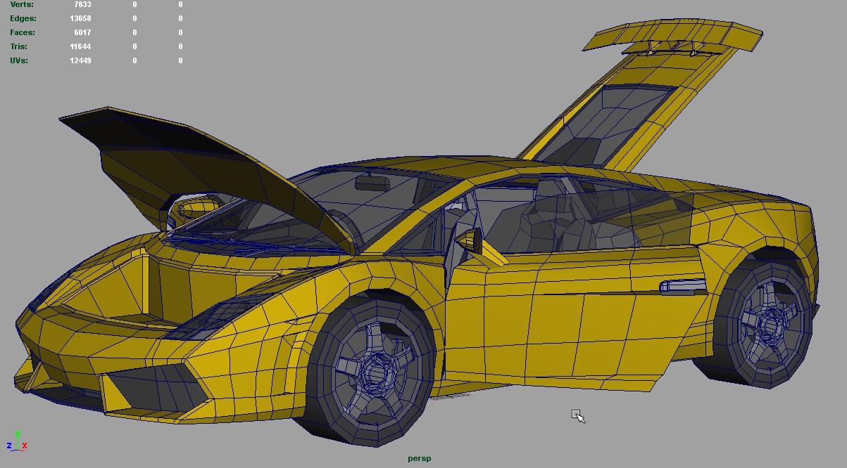 Lamborghini Gallardo: WIP Shot by muzikmastamaku