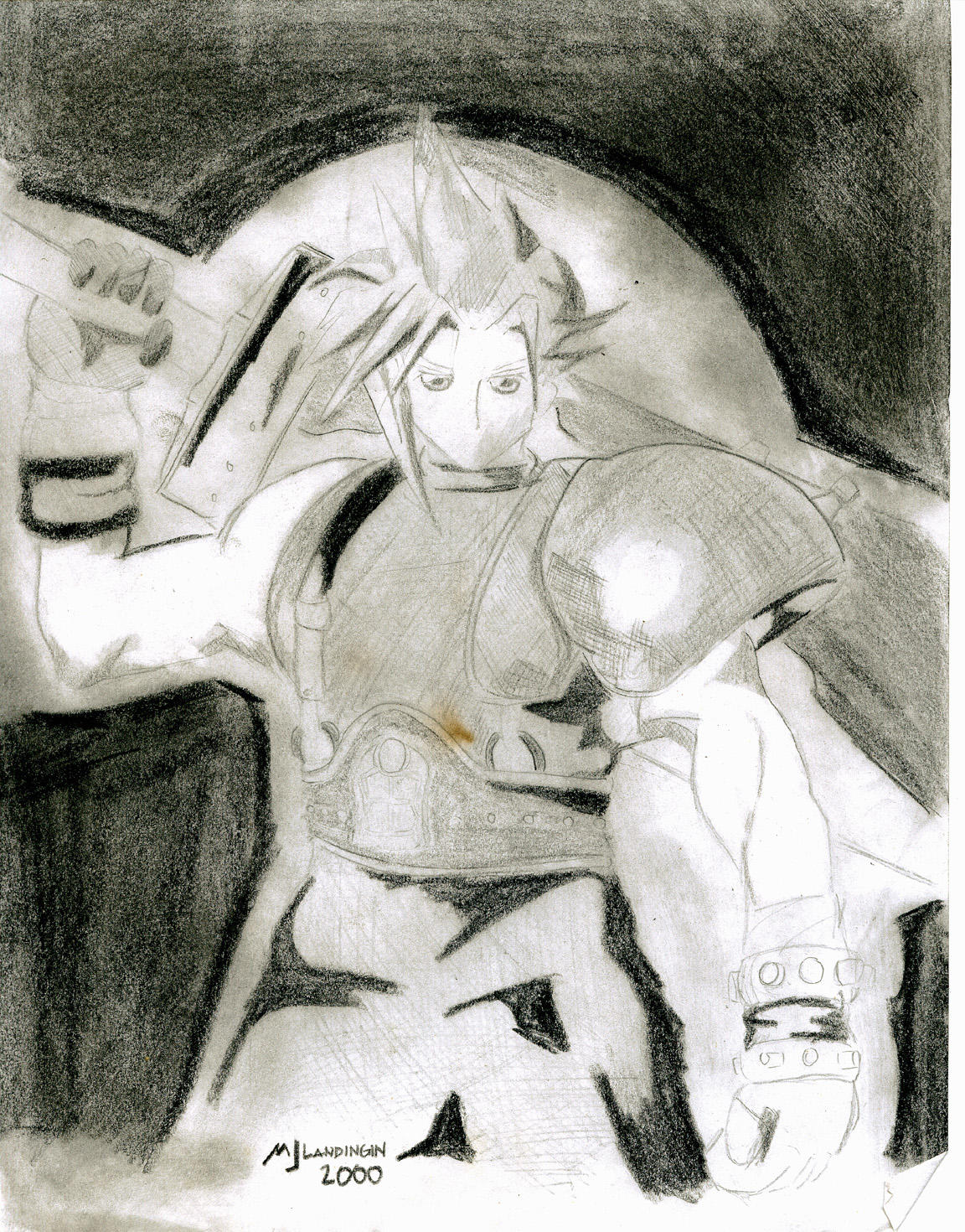 Grim Blade by muzikmastamaku