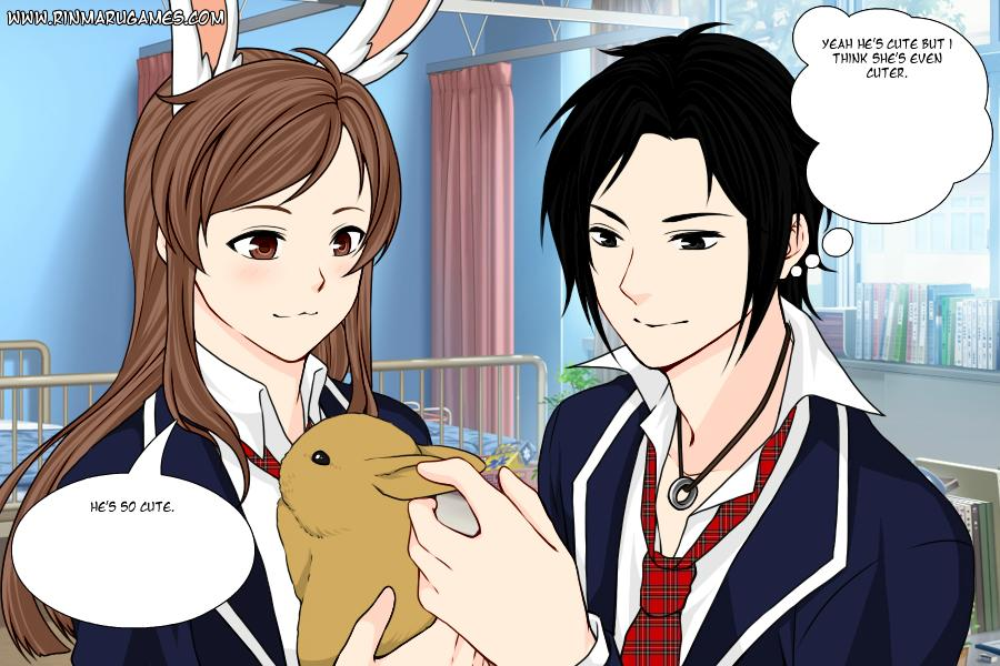 RWBY Roleplay: Kyo And Velvet, Bunny moon by redandbluesonic on