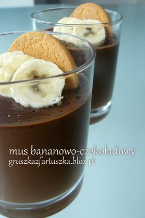 banana-chocolate mouse by Pokakulka