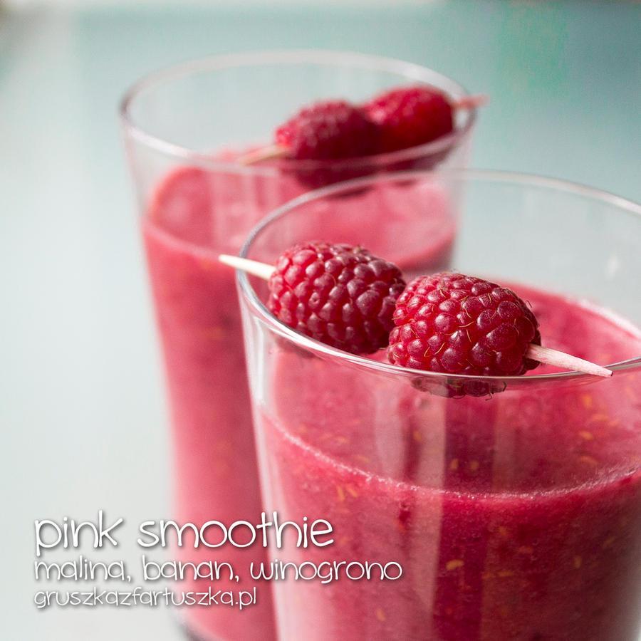 pink smoothie by Pokakulka