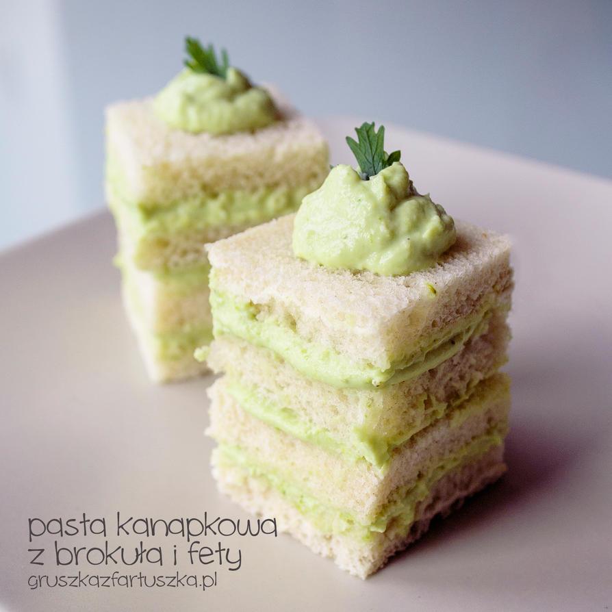 broccoli and feta sandwich by Pokakulka