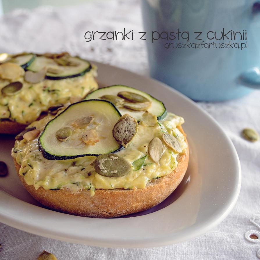 bruschetta with zucchini cheese by Pokakulka