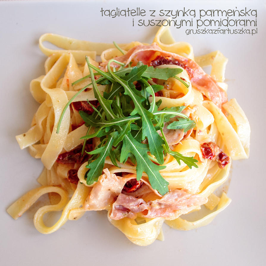 tagliatelle with dried tomato by Pokakulka