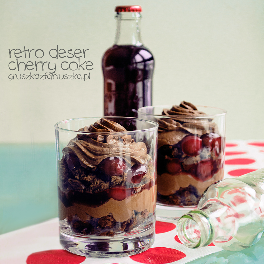 retro coca cola dessert by Pokakulka