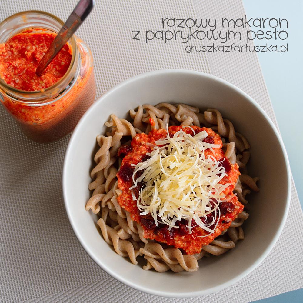 pasta with paprika pesto by Pokakulka