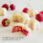 raspberry pralines