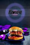 Avengers burgers - Hawkeye by Pokakulka