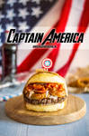 Avengers Burgers - Captain America by Pokakulka