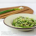 cucumber, zucchinni and quinoa salad by Pokakulka