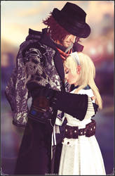 Ardyn and Reanbell - Father and Daughter
