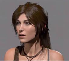 Lara New Face by IsmaelUchihaSan