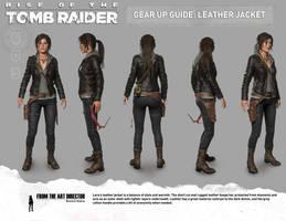 Lara Leather Jacket by IsmaelUchihaSan