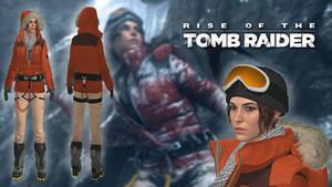 ROTTR Lara Siberia expedition hood (update) by IsmaelUchihaSan