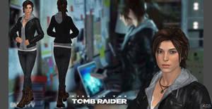 ROTTR Lara leather jacket (original head update)