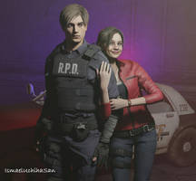 Claire and Leon 2