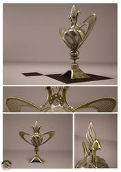 final trophy rendering