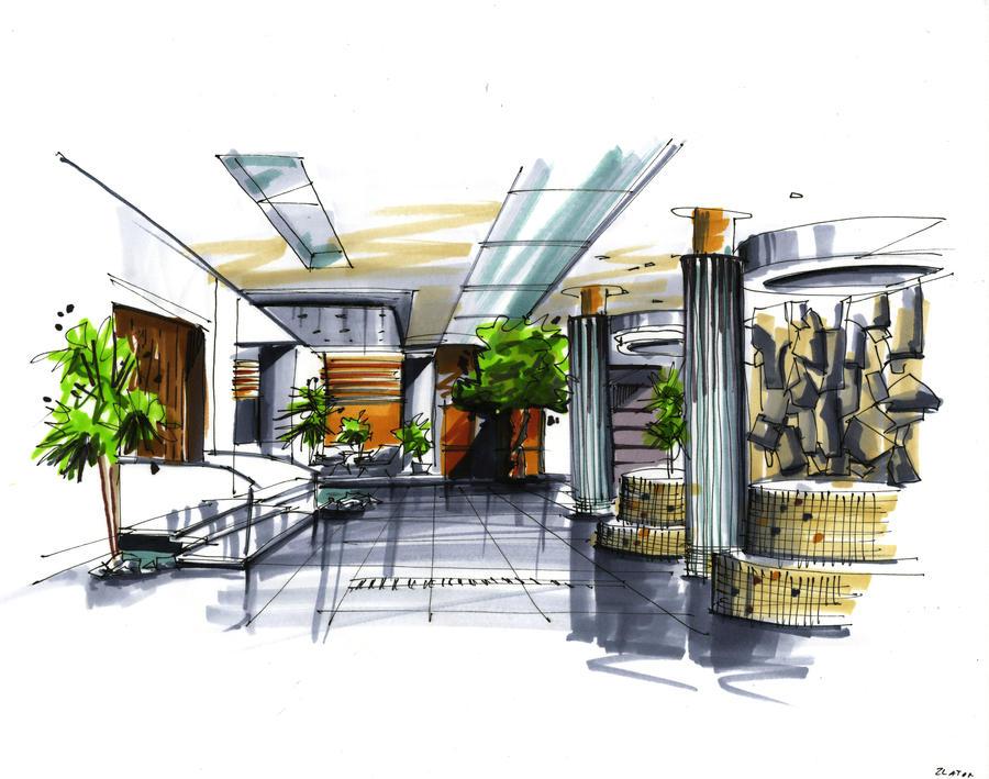 Interior Marker Rendering 2 By Zlaja On Deviantart