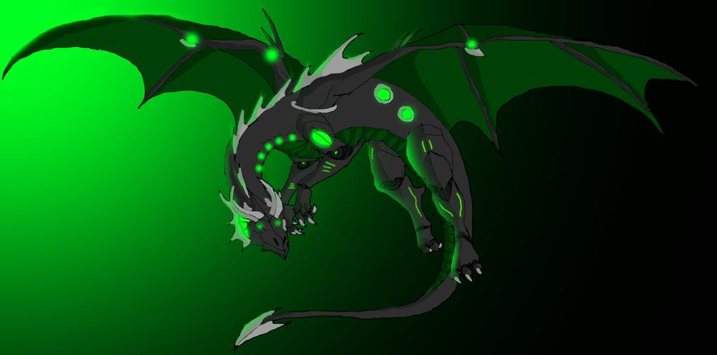 robot dragon speedpaint by fyrebal on deviantart