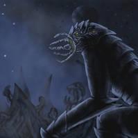 Kosmisk skrck Ctholo demon speed paint by SvartabergetArt