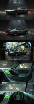Ghost in the Shell - Batou's Car