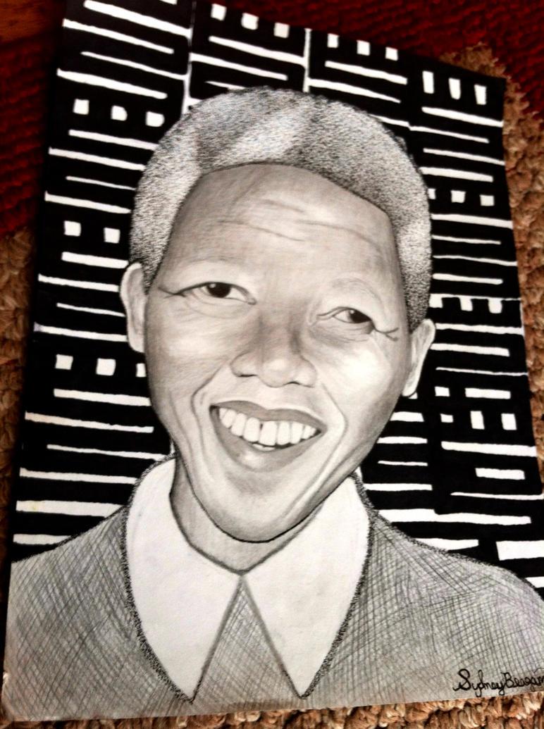 Nkyimkyim Mandela (Nelson Mandela) by Psych3d3lics