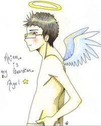 Khiem is my Guardian Angel by DeathsVampire
