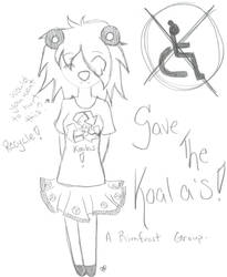Save The Koala's by DeathsVampire