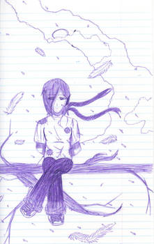 Elf Sitting On A Tree- Windy