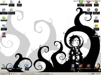 Pyromaniac Desktop by DeathsVampire