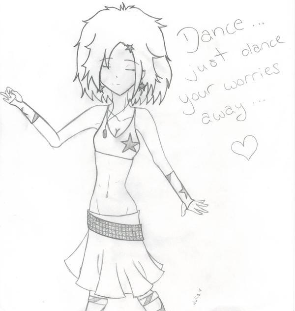 Mi: Dance Your Worries Away by DeathsVampire