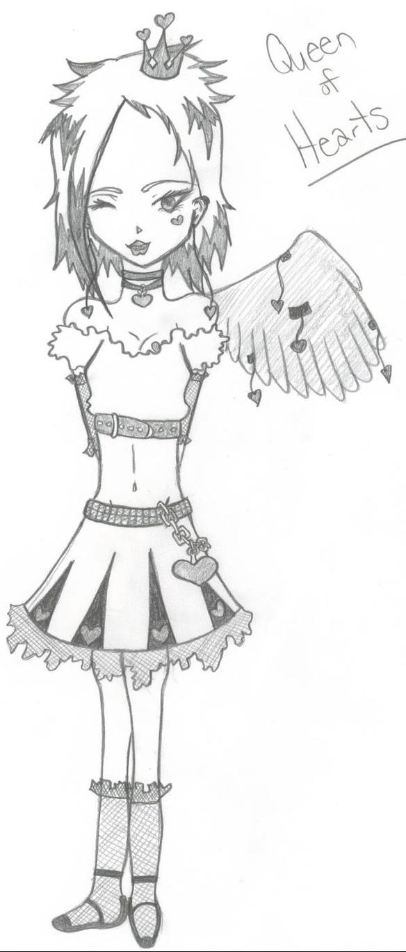 Queen Of Hearts by DeathsVampire