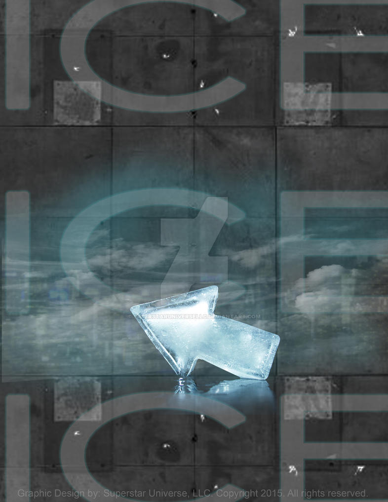 Ice Cold Poster by SuperstarUniverseLLC