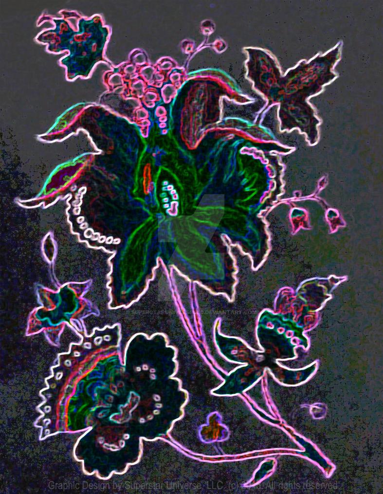 Gorilla Glue Neon Glow by SuperstarUniverseLLC