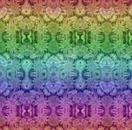 Sample Wallpaper Hearts and Rainbows