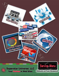 Project Management Service Menu
