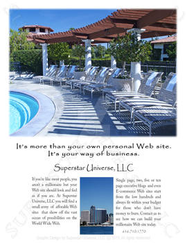 Web Site Consulting Marketing Advertisement