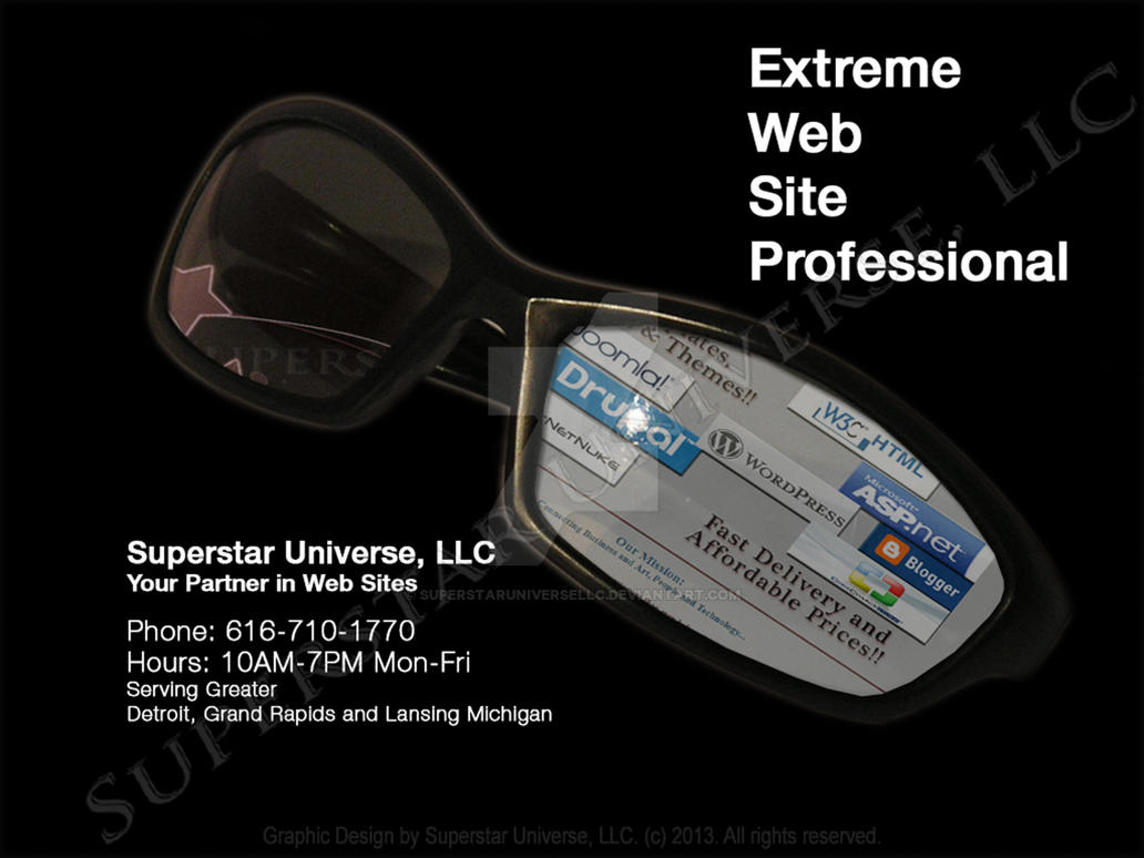 Web Site Consulting Marketing Advertisment by SuperstarUniverseLLC