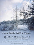 Winter Wonderland Vacation Advertisement