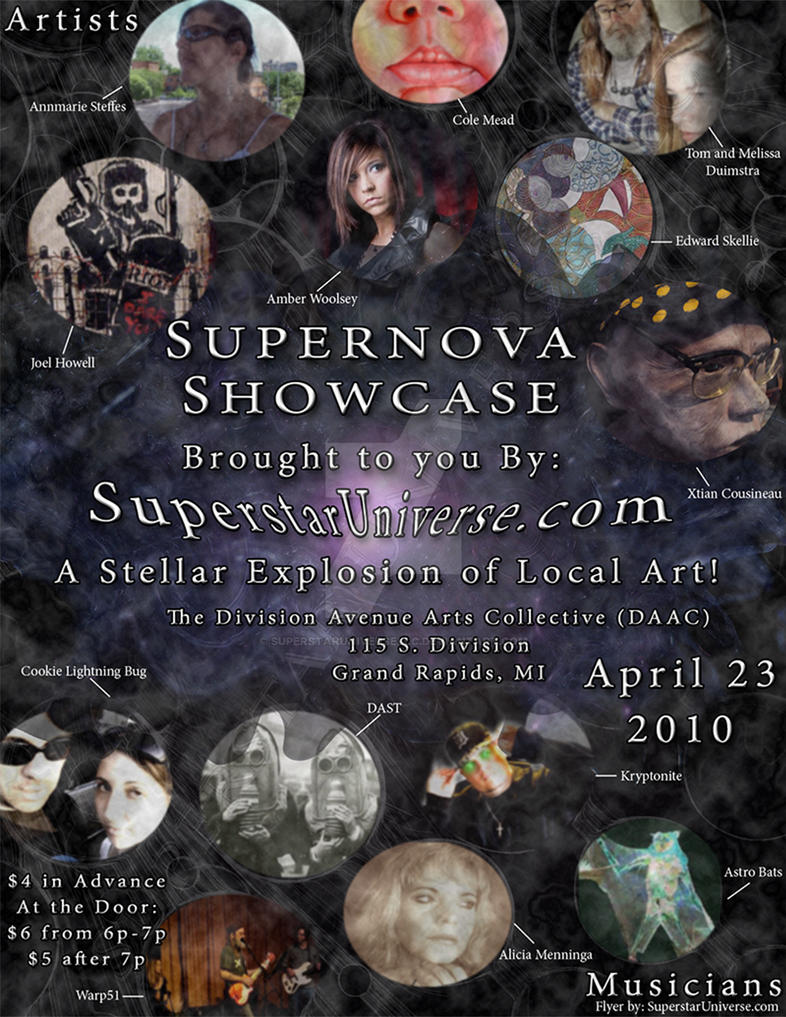 Superstar Universe, LLC First Annual Supernova Ad by SuperstarUniverseLLC
