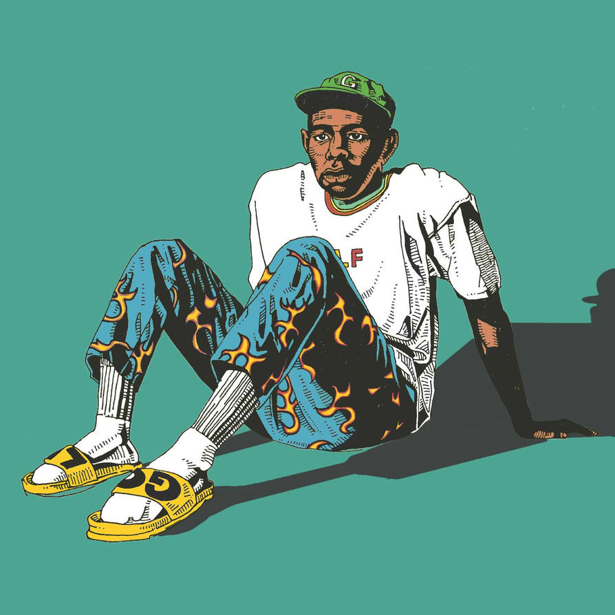 Tyler The Creator With Golf Wang By Luckymong