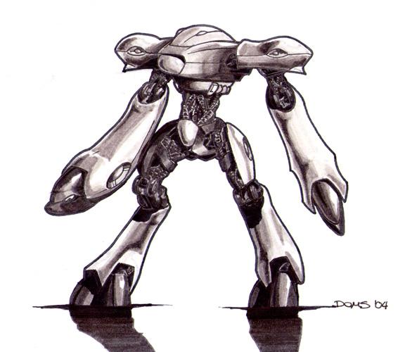 RoboCrab by doms3d